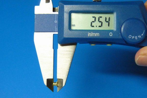 TOYz BAR☆ミニ四駆GUP 15411 N-04・T-04強化ユニット(レッド)。ハトメ寸法測定。
