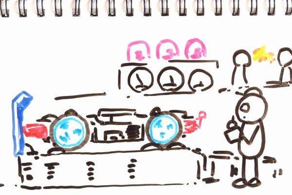 TOYz BAR☆ミニ四駆 520ボールベアリング性能比較。