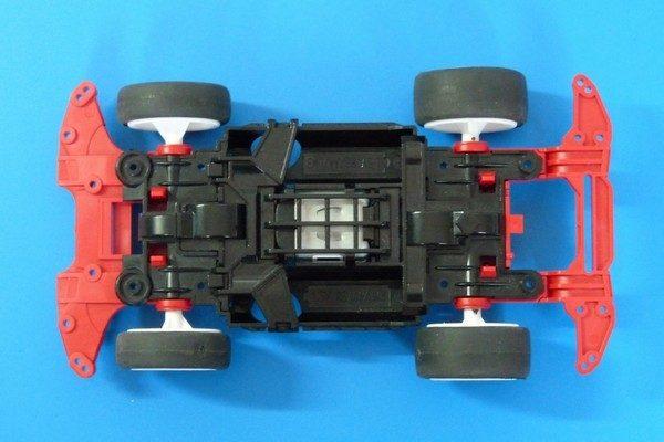TOYz BAR☆ミニ四駆 520+N-04・T-04強化ユニット、ちょっとホイールがきつい。