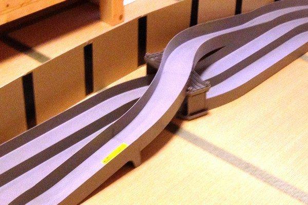 TOYz BAR☆ミニ四駆、ジャパンカップジュニアサーキットのレーンチェンジ。