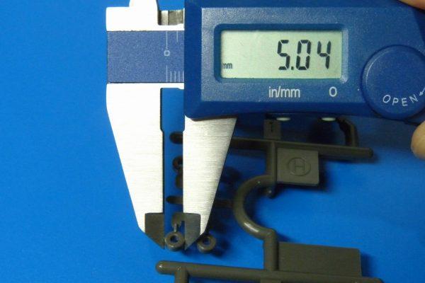 TOYz BAR☆ミニ四駆GUP 15382 5mmプラベアリング 外径測定。