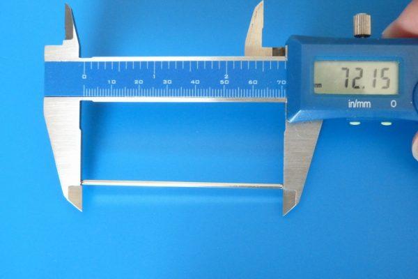 TOYz BAR☆ミニ四駆GUP 15399 MSシャーシ マルチブレーキセット。付属シャフトの長さ。