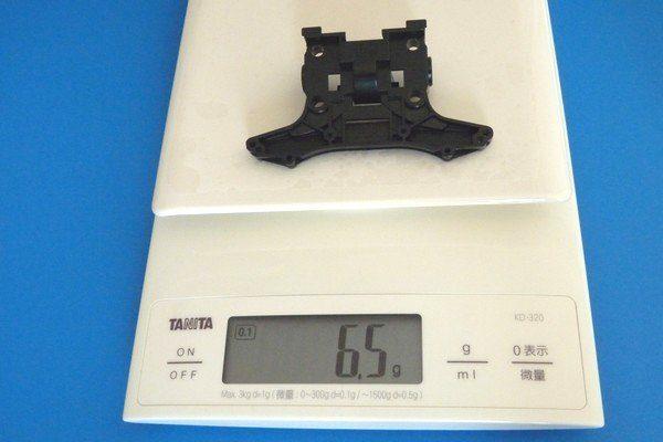 TOYz BAR☆ミニ四駆。MSシャーシ・フロントユニット。N-02重量測定。
