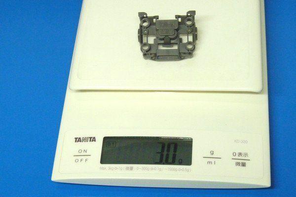 TOYz BAR☆ミニ四駆。MSシャーシ・フロントユニット。N-03重量測定。