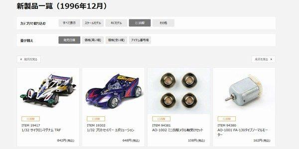 TOYz BAR☆タミヤ公式サイトのリニューアル。サイクロンマグナムTRF。