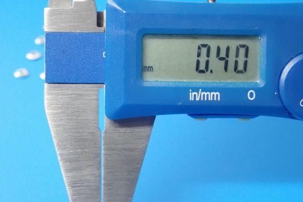 TOYz BAR☆ミニ四駆GUP  94768 AO-1018 ベアリングローラー用スペーサー (20個)。ベアリング用ローラースペーサーのサイズ測定。