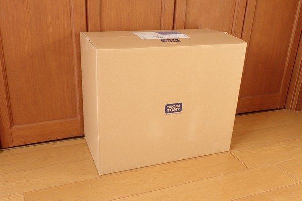 TOYz BAR☆タカラトミー リニアライナーL0 修理。立派なタカラトミーダンボール箱で到着。