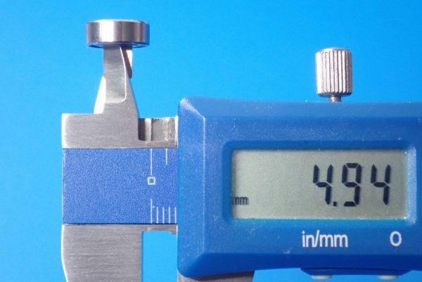 TOYz BAR☆ミニ四駆GUP 15345 ローラー用11mmボールベアリングセット。サイズ測定。