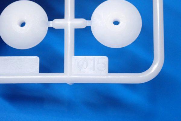 TOYz BAR☆ミニ四駆GUP 15391 大径スタビヘッドセット(11mm, 15mm)。スタビ部品詳細写真。