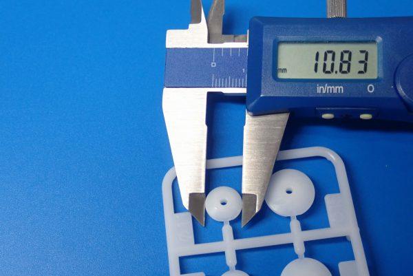 TOYz BAR☆ミニ四駆GUP 15391 大径スタビヘッドセット(11mm, 15mm)。スタビヘッド サイズ測定。