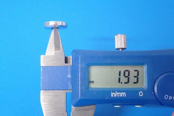 TOYz BAR☆ミニ四駆GUP 15437 13mm オールアルミベアリングローラー。サイズ測定。