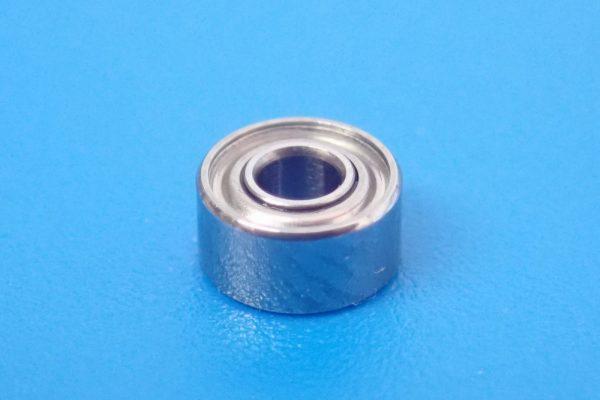 TOYz BAR☆ミニ四駆GUP 15418 ゴムリング付 2段アルミローラーセット (13-12mm)。520ボールベアリング。