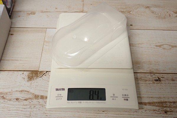 TOYz BAR☆ミニ四駆PRO No.13 TRFワークスJr.。ボディの重さ。