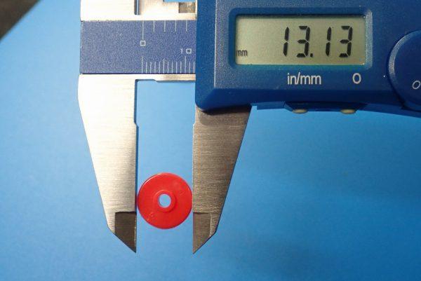TOYz BAR☆ミニ四駆GUP 15514 FM-Aシャーシ ファーストトライパーツセット。13mmプラローラー、サイズ測定。