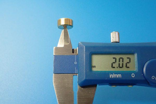 TOYz BAR☆ミニ四駆GUP 15514 FM-Aシャーシ ファーストトライパーツセット。ウエイトのサイズ測定。