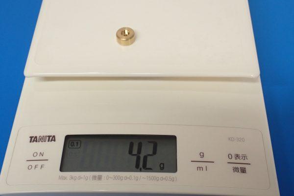TOYz BAR☆ミニ四駆GUP 15514 FM-Aシャーシ ファーストトライパーツセット。ウエイト重量測定。