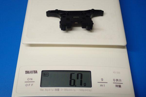 TOYz BAR☆ミニ四駆GUP 15367 N-02・T-01強化ユニット。N-02強化ユニット重量測定。