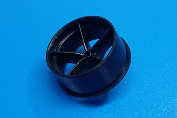 TOYz BAR☆ミニ四駆GUP 15507 HG 低反発スポンジタイヤ(大径ナローホイール用)。低反発スポンジタイヤ、大径ナロータイヤに装着してサイズ測定。