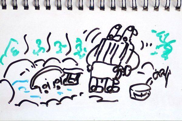 TOYz BAR☆熱湯によるミニ四駆シャーシのゆがみ修正、効果確認実験。