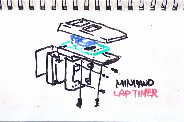 前世紀より発掘されたミニ四駆用ラップタイマー(タミヤ ミニ四駆ラップタイマー 15184 )、分解してみる。動くのかな、これ。
