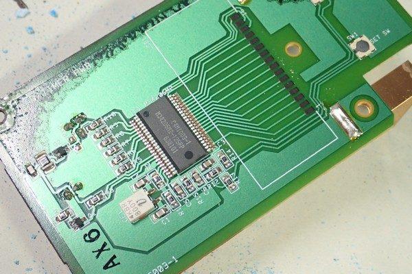 TOYz BAR☆壊れたタミヤ ミニ四駆ラップタイマー 15184を分解。基板表側。