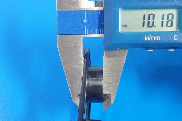 TOYz BAR☆95412 ハードローハイトタイヤ(シルバー)&カーボン強化ホイール(Yスポーク)。ホイールサイズ測定。